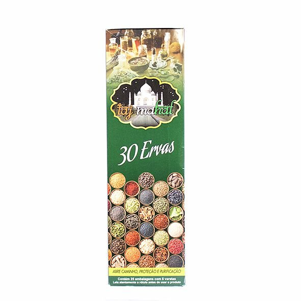 Incenso Box Taj Mahal - Diversos Aromas