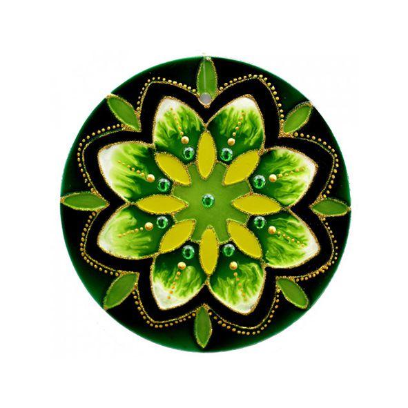 Mandala Verde Esperança - Média