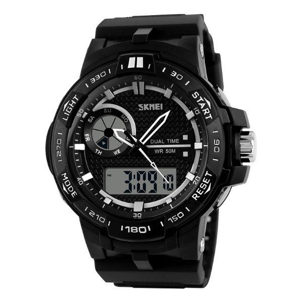 Relógio Masculino Skmei Anadigi 1070 PT