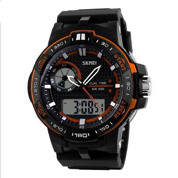 Relógio Masculino Skmei Anadigi 1070 LR