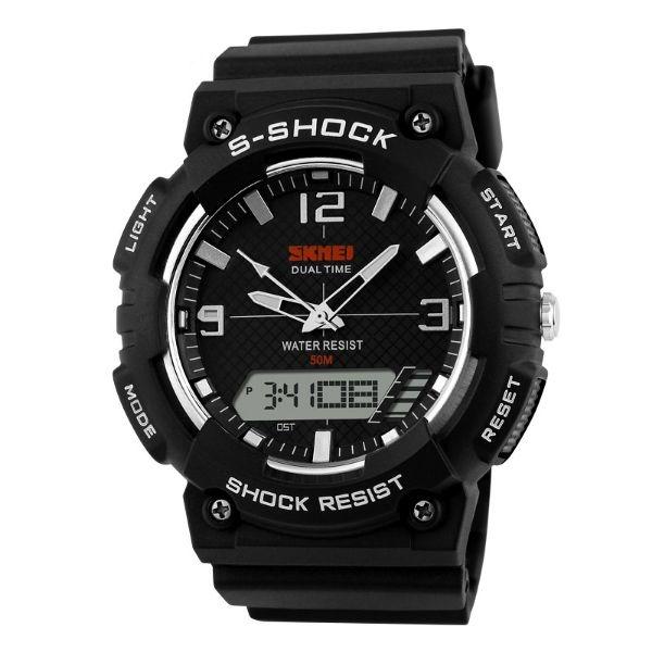 Relógio Masculino Skmei Anadigi 1057 PT-BR