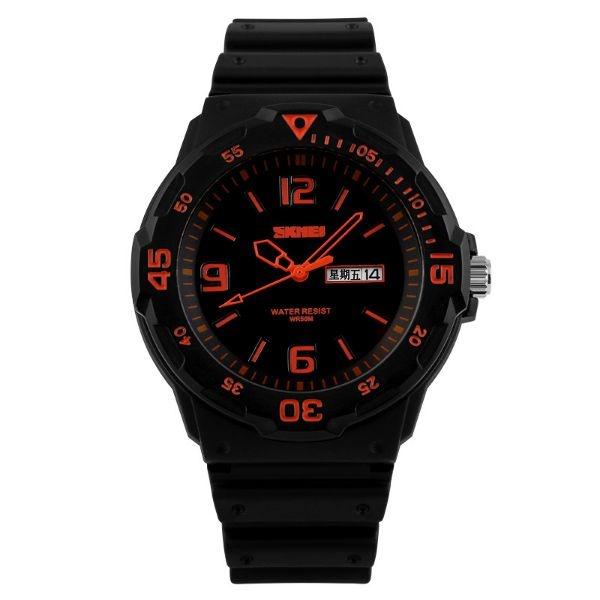 Relógio Masculino Skmei Analógico 1045 PT-LR
