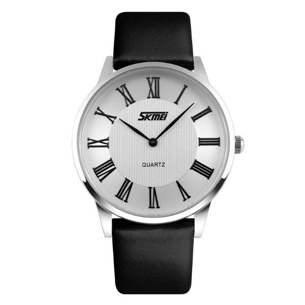 Relógio Masculino Skmei Analógico 9092 Preto e Prata