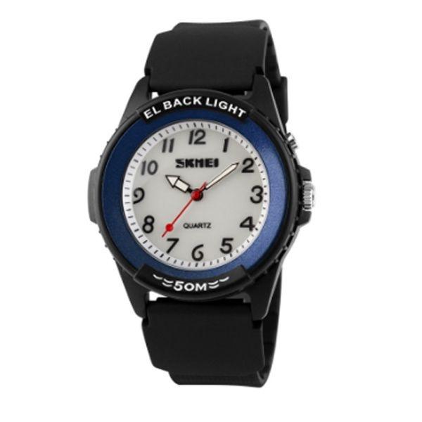 Relógio Masculino Skmei Analógico 0887 PT-AZ