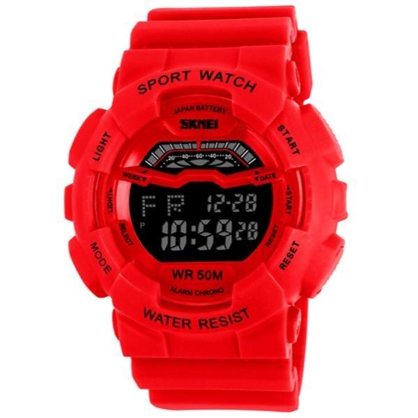 Relógio Masculino Skmei Digital 1012 Vermelho