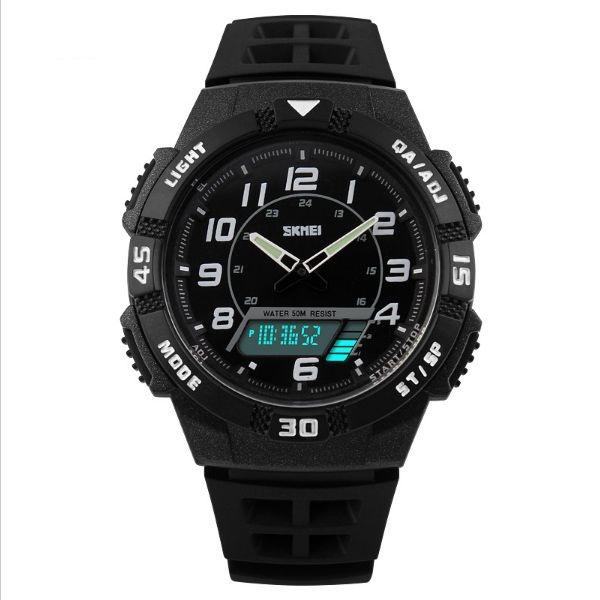 Relógio Masculino Skmei Anadigi 1065 PT-BR