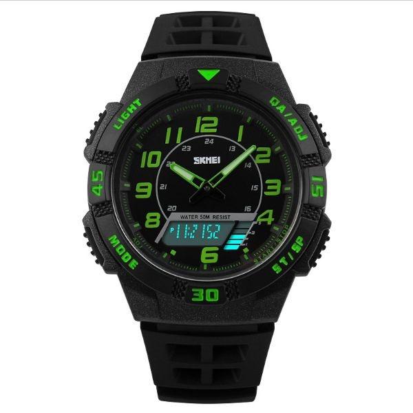 Relógio Masculino Skmei Anadigi 1065 PT-VD