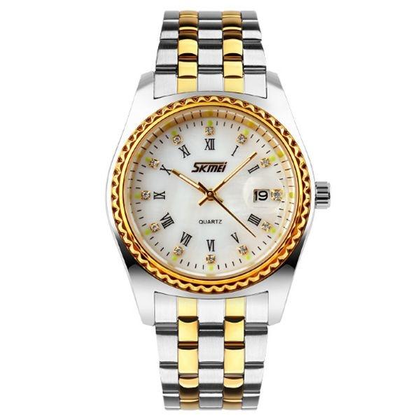 Relógio Masculino Skmei Analógico 9098 Branco