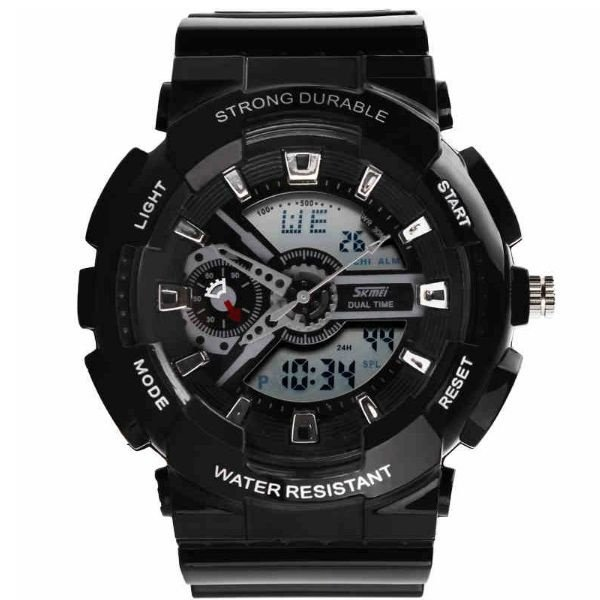 Relógio Masculino Skmei Anadigi 0929 Preto