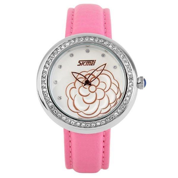 Relógio Feminino Skmei Analógico 9087 RS-PR