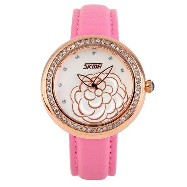 Relógio Feminino Skmei Analógico 9087 RS-OU