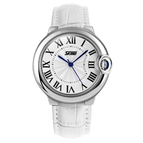 Relógio Feminino Skmei Analógico 9088 Branco