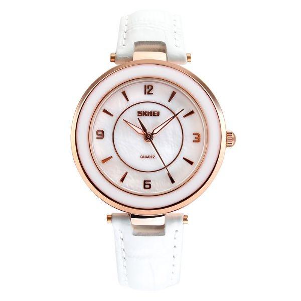 Relógio Feminino Skmei Analógico 1059 Branco