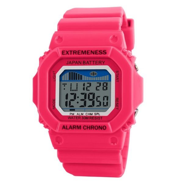 Relógio Feminino Skmei Digital 6918 Pink