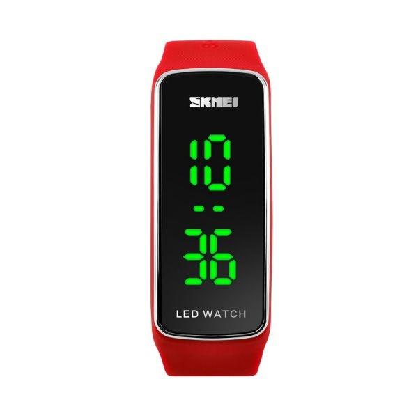 Relógio Feminino Skmei Digital 1119 - Vermelho e Preto