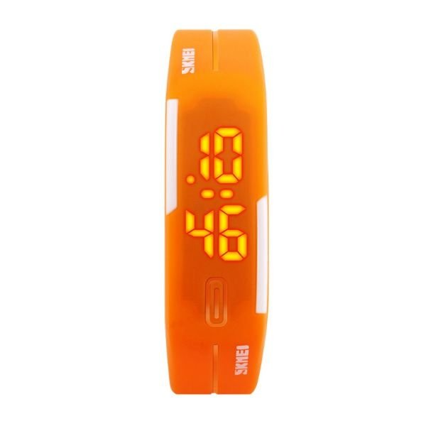 Relógio Feminino Skmei Digital 1099 - Laranja