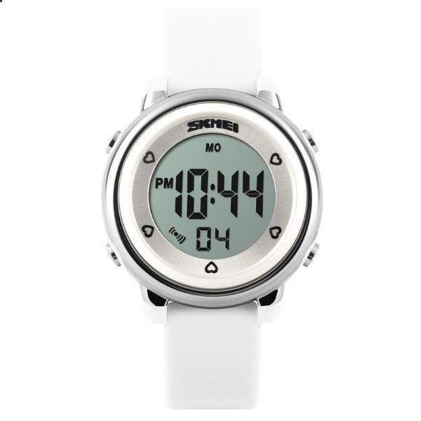 Relógio Infantil Skmei Digital 1100 Branco
