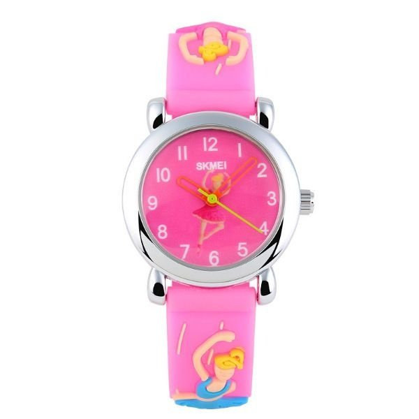 Relógio Infantil Skmei analógico 1047 Rosa