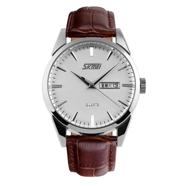 Relógio Masculino Skmei Analógico 9073 Marrom
