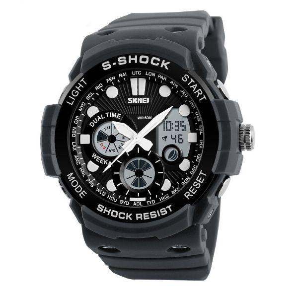 Relógio Masculino Skmei Anadigi 1205 CZ