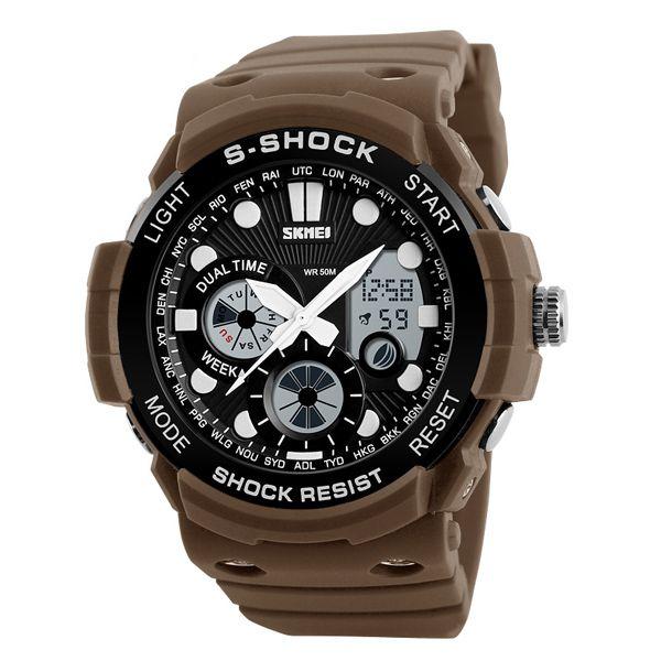 Relógio Masculino Skmei Anadigi 1205 MR