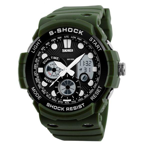 Relógio Masculino Skmei Anadigi 1205 VD