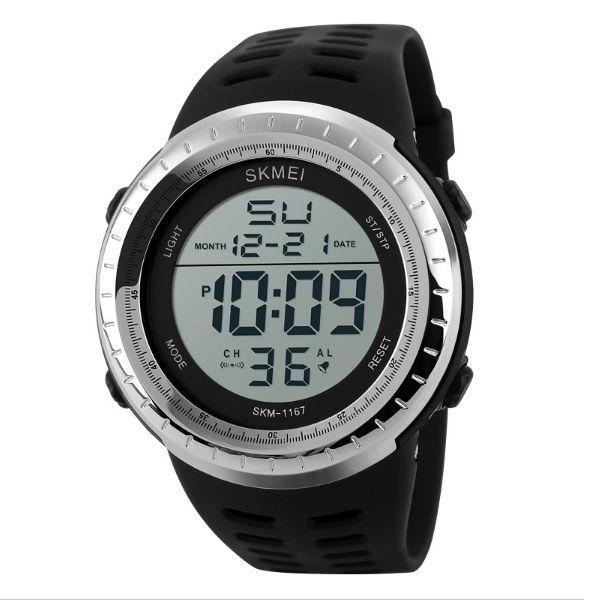 Relógio Masculino Skmei Digital 1167 - Prata