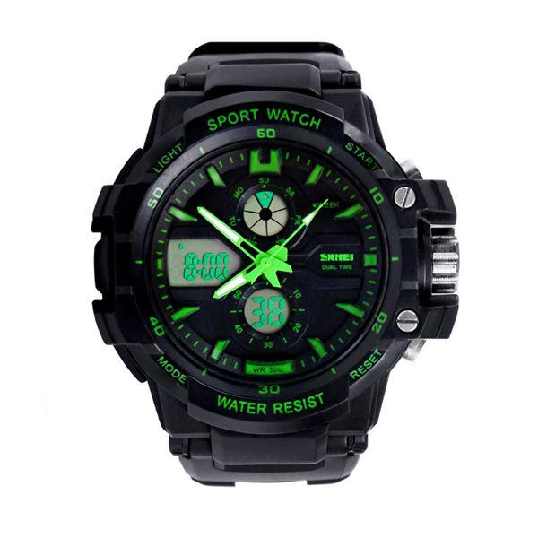 Relógio Infantil Skmei Anadigi 0990L Verde