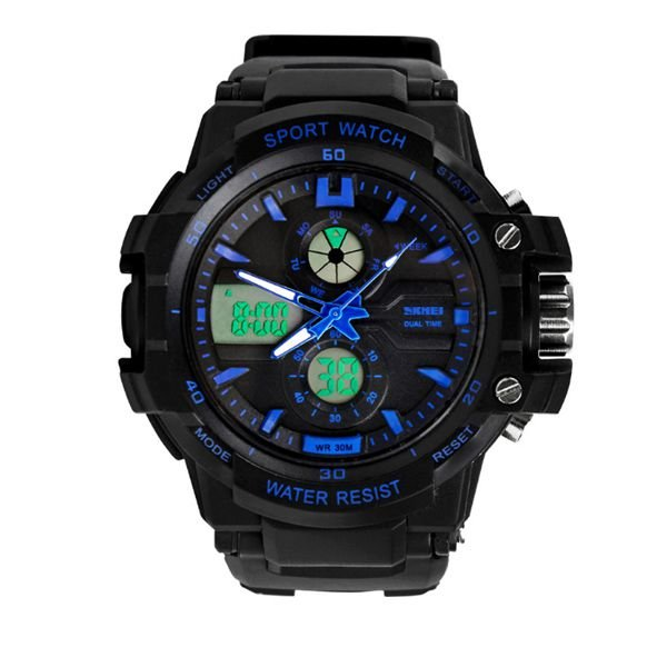 Relógio Infantil Skmei Anadigi 0990L Azul