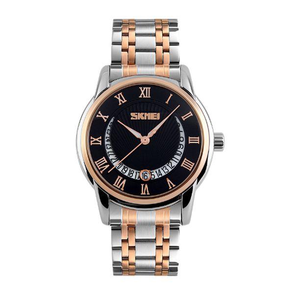 Relógio Masculino Skmei Analógico 9122 Prata