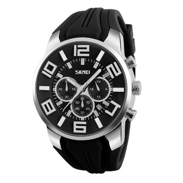 Relógio Masculino Skmei Analógico 9128 Preto