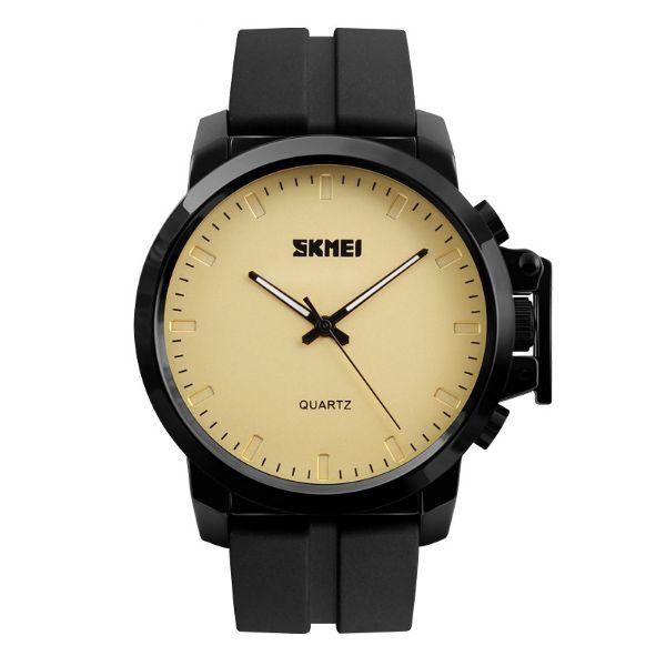 Relógio Masculino Skmei Analógico 1208 Dourado