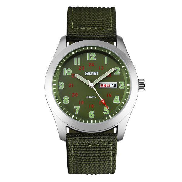 Relógio Masculino Skmei Analógico 9112 Verde