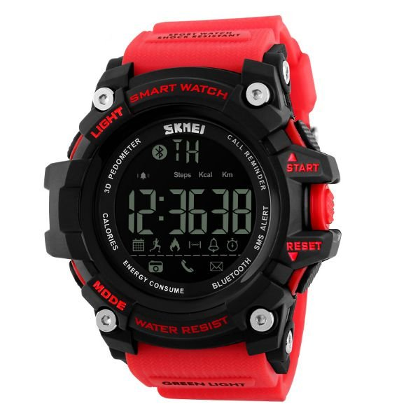 Relógio Smart Watch Skmei 1227 Vermelho