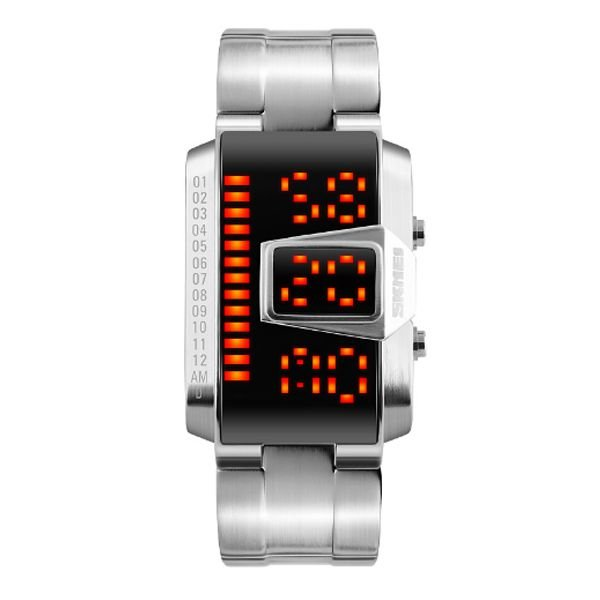 Relógio Masculino Skmei Digital 1179 Prata