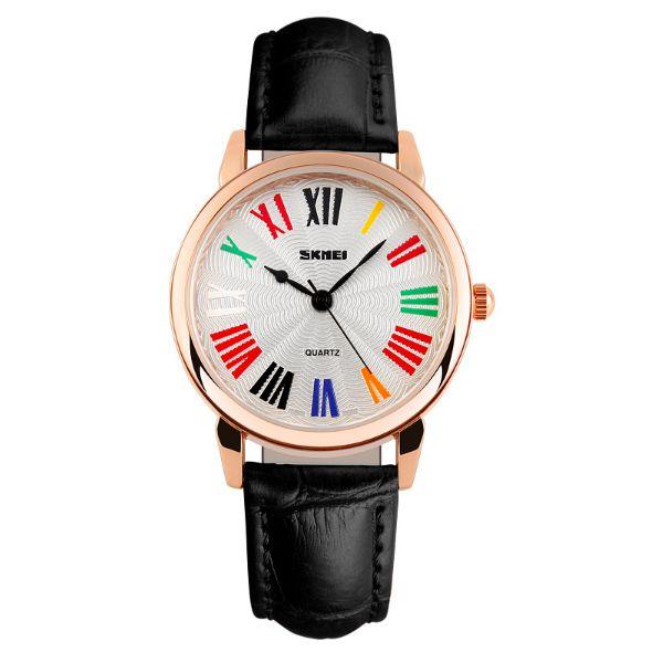 Relógio Feminino Skmei Analógico 1084 Preto