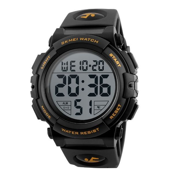 Relógio Masculino Skmei Digital 1258 Dourado