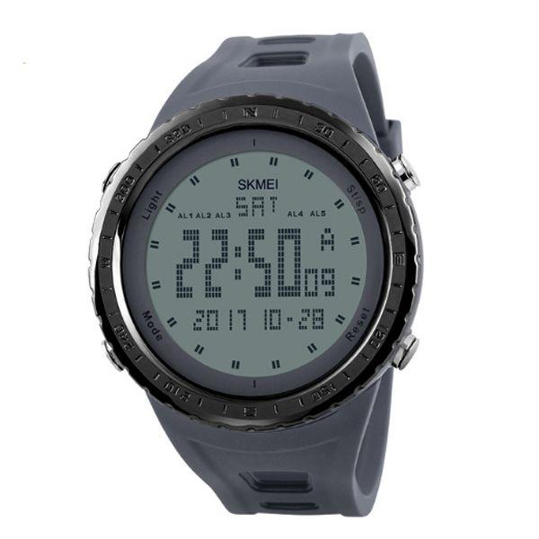 Relógio Masculino Skmei Digital 1246 Cinza