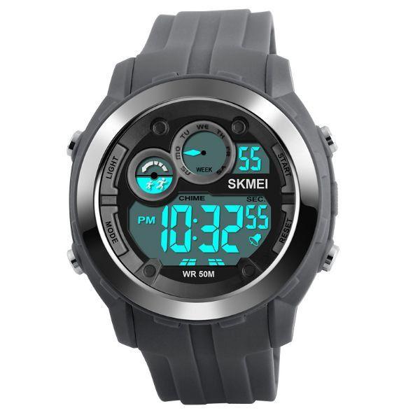 Relógio Masculino Skmei Digital 1234 Cinza