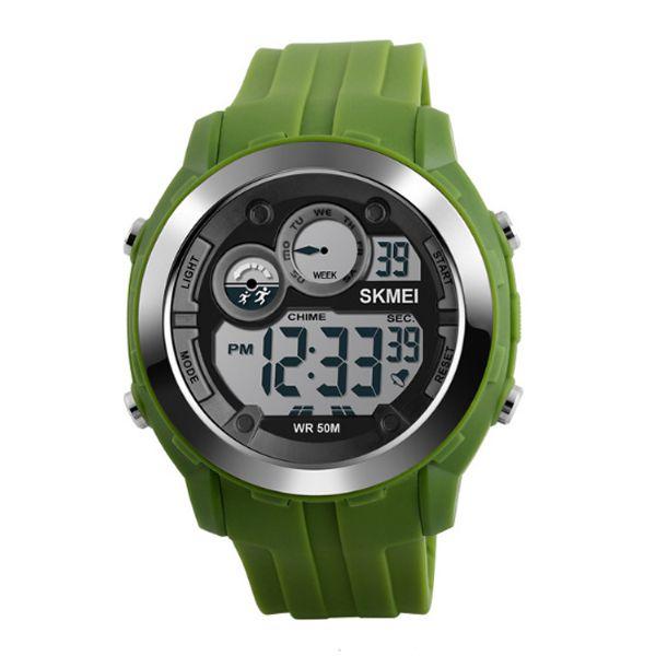 Relógio Masculino Skmei Digital 1234 Verde