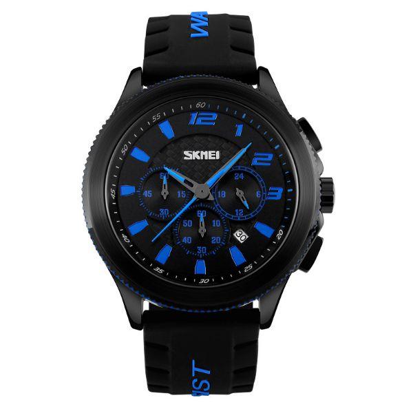 Relógio Masculino Skmei Analógico 9136 Azul