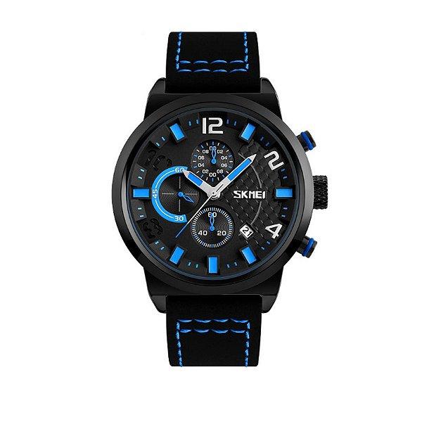 Relógio Masculino Skmei Analógico 9149 Azul