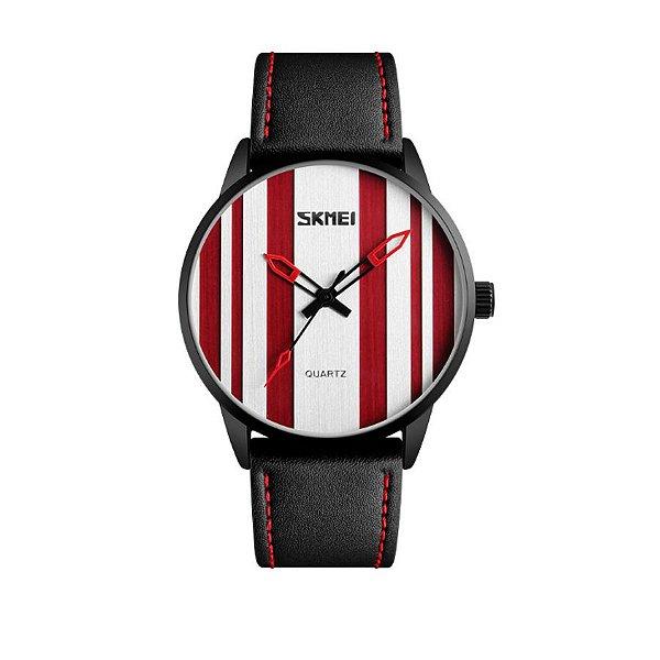 Relógio Masculino Skmei Analógico 1602S Vermelho