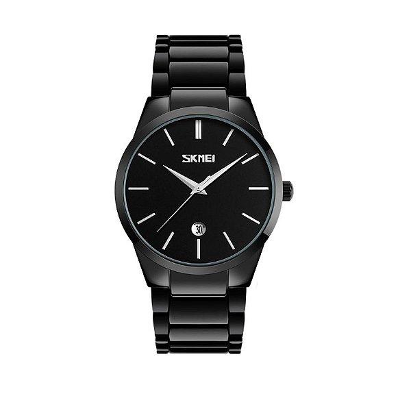 Relógio Masculino Skmei Analógico 9140 Preto