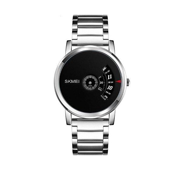 Relógio Masculino Skmei Analógico 1260 Prata