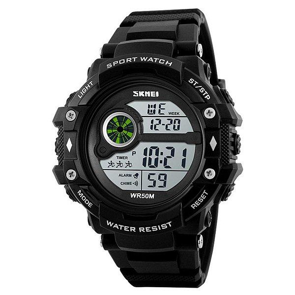 Relógio Masculino Skmei Digital 1280 - Preto
