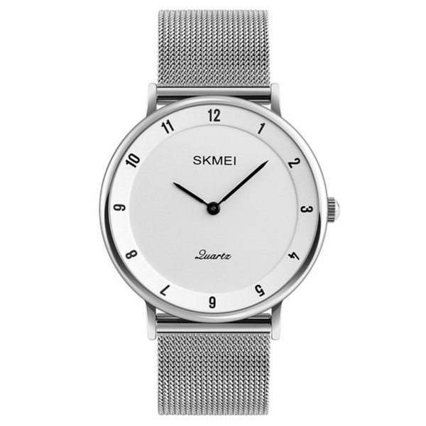 Relógio Skmei Analógico 1264 - Branco e Preto