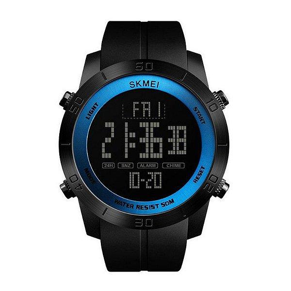 Relógio Masculino Skmei Digital 1353 Preto e Azul