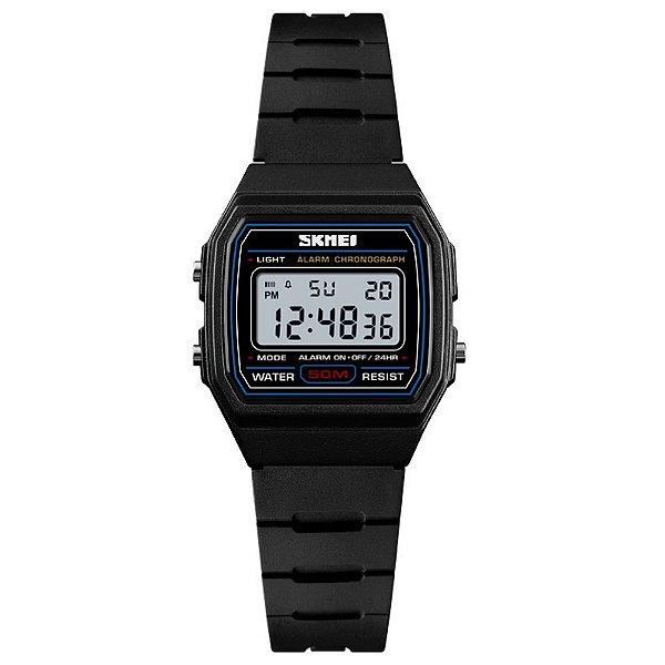 Relógio Infantil Skmei Digital 1460 Preto