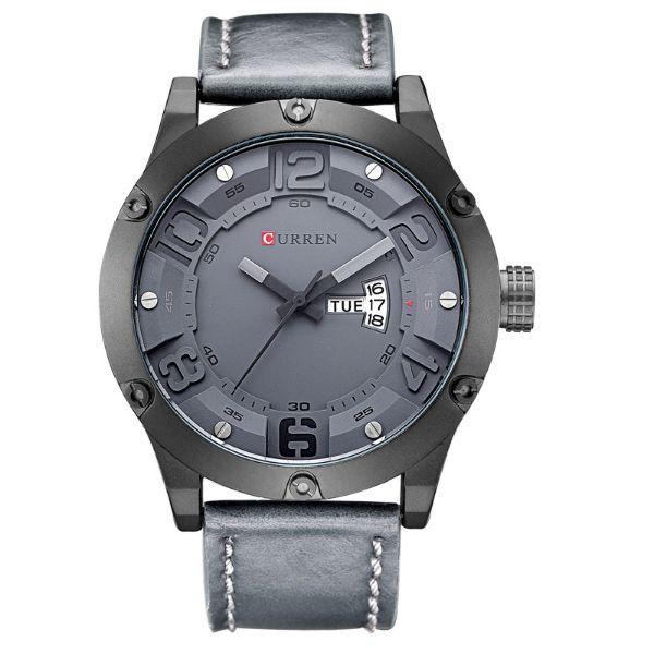 Relógio Masculino Curren Analógico 8251 Cinza